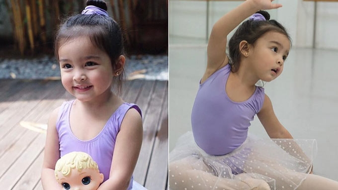 Zia Dantes is the cutest ballerina you'll see today