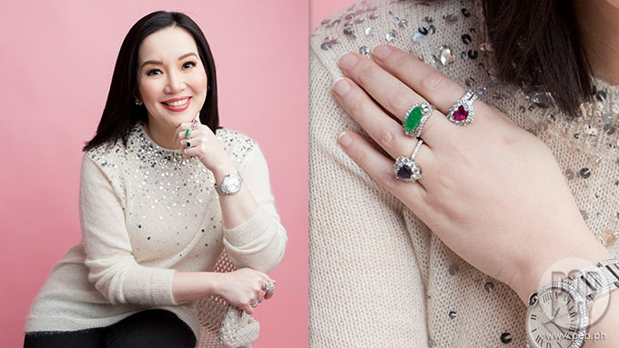 Kris Aquino explains her latest obsession with gemstones