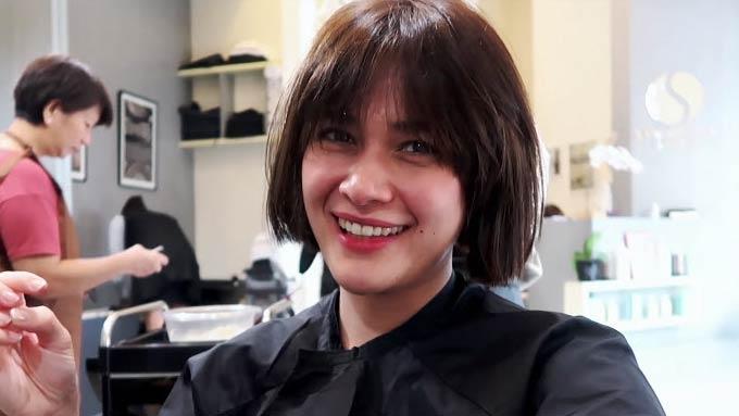 Bea Alonzo's new haircut Bea Bob is nakakabata