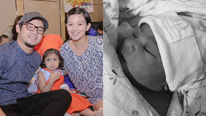 Jennica Garcia and Alwyn Uytingco welcome second baby girl