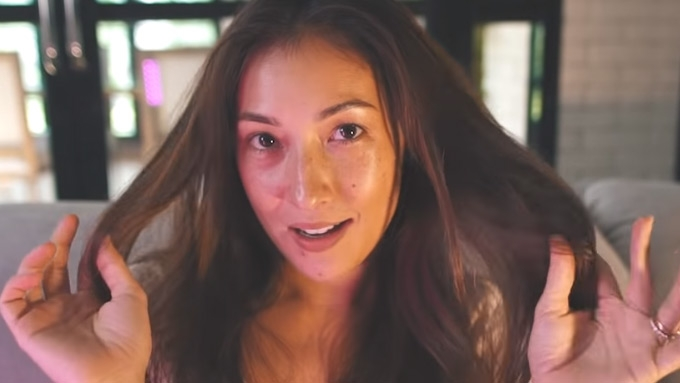Solenn Heussaff goes barefaced and talks about mental health