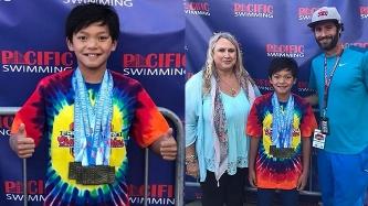 Filipino kid breaks Michael Phelps' 23-year swimming record