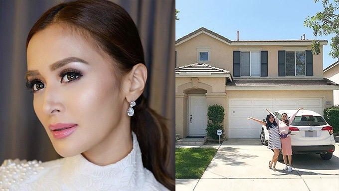 How Kris Bernal saved up for a house in the U.S.