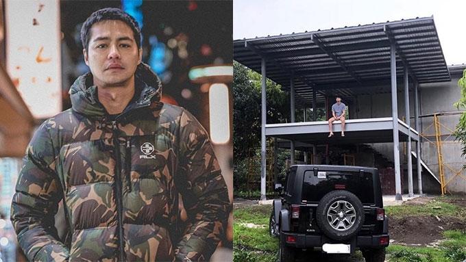 Zanjoe Marudo builds rest house in Batangas hometown