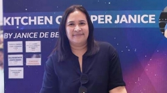 Why Janice de Belen personally mans booth at bazaars
