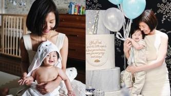Liz Uy's son Xavi turns one year old