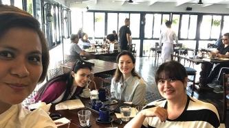 Carmina Villarroel, Aiko Melendez, Gelli de Belen, and Candy Pangilinan spend weekend in Tagaytay