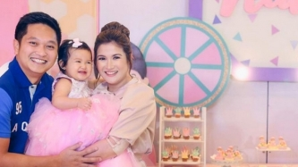 Camille Prats and VJ Yambao baby girl Nala given a party fit for a princess