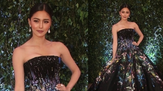 Kim Chiu dazzles in butterfly-inspired Michael Cinco ball gown at the ABS-CBN Ball 2018