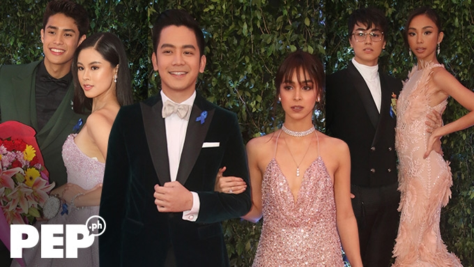 Love teams spotted at ABS-CBN Ball 2018
