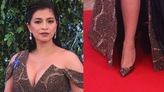 Spotlight on glamorous high heels at the ABS-CBN Ball