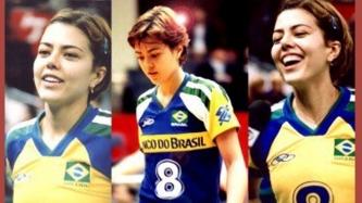 Brazilian volleyball star Leila Barros now a senator
