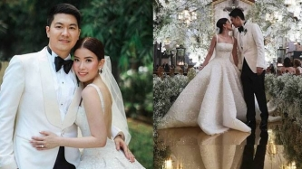 Celebrity stylist Kimi Yap's dreamy wedding