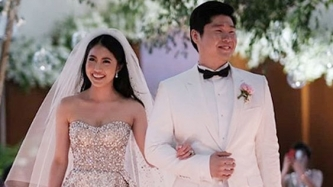 This former Miss Chinatown weds in style of <em>Crazy Rich Asians </em>