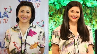 Regine Velasquez now a Kapamilya; how about her Kenzo blouse?