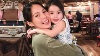 Andi Manzano, pregnant with second child, gets emotional about firstborn Olivia