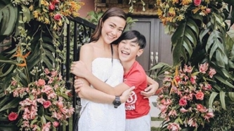 Jodi Sta. Maria reveals reason her son Thirdy does not want to join showbiz