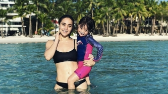 Cristine Reyes and daughter Amarah rave about new Boracay