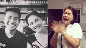 Dimples Romana gives mom and siblings the surprise of a lifetime