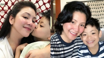 Regine Velasquez touched by son Nate Alcasid's promise