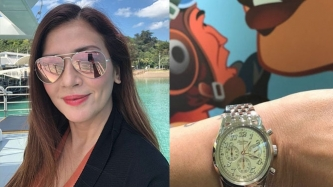 Zsa Zsa Padilla gets sentimental over Dolphy's vintage Breitling watch