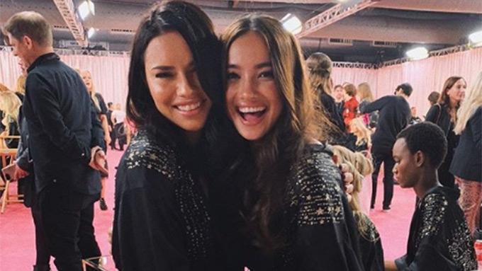 Kelsey Merritt debuts at Victoria's Secret Fashion Show