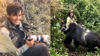 Erwan Heussaff recounts heart-clenching encounter with gorilla