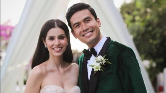 Christian Bautista and Kat Ramnani's church wedding up close