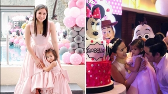 Baby Isabella Padilla turns two with Disney-themed party
