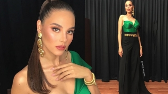 Catriona Gray wows in Thai-inspired jumpsuit; arrives in Bangkok for Miss Universe 2018