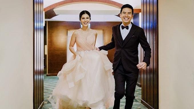 Christian Bautista, Kat Ramnani grand wedding reception