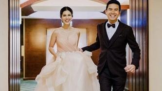 Christian Bautista, Kat Ramnani hold grand wedding reception at The Manila Hotel