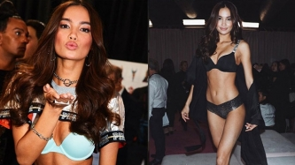 Kelsey Merritt sizzles at Victoria's Secret Fashion Show 2018