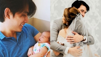 Mike Tan and non-showbiz wife welcome baby girl