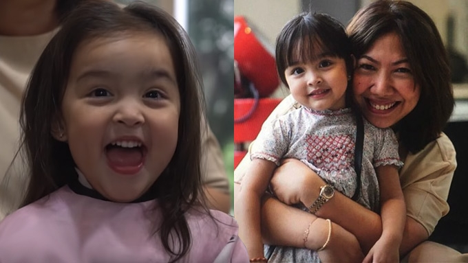 Zia Dantes gets her first haircut; Marian and Dingdong ...