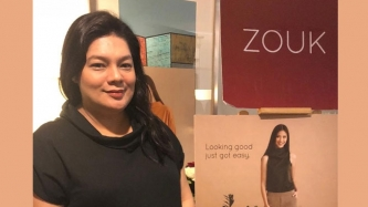 Bianca Lapus now has a clothing line for ladies and