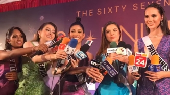 This interview with Miss Universe 2018 candidates is totally laugh-out-loud