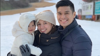 JC de Vera's daughter is a ball of sunshine in South Korea