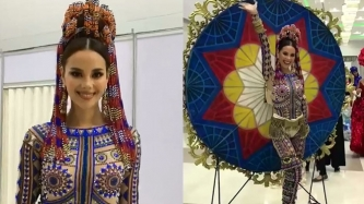 FIRST LOOK: Catriona Gray's national costume at Miss Universe 2018