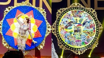 Catriona Gray's national costume at Miss Universe 2018 is called LuzViMinda