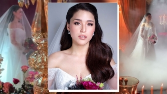 FIRST LOOK: Kylie Padilla steps out in her first bridal look
