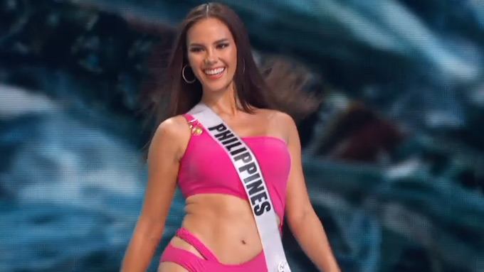 Catriona Gray's slow-mo turn at Miss Universe awes netizens