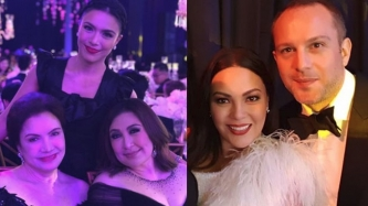 Celebrity guests of Frankie Pangilinan on her 18th birthday