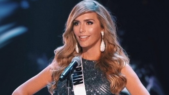 Miss Universe celebrates victory of Miss Spain Angela Ponce