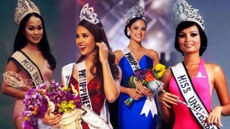 Unforgettable crowning moments of Miss Universe winners from the Philippines