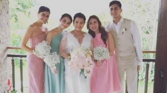 Snaps from Lotlot De Leon-Fadi El Soury wedding