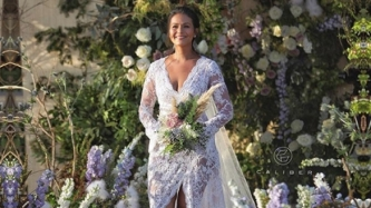 FIRST LOOK: Iza Calzado glows in Rajo Laurel bridal dress