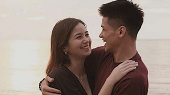 Vin Abrenica assures Sophie Albert gaining a few pounds will not make her less beautiful