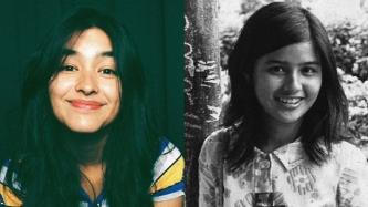 Liza Soberano finds another doppelganger in Atom Araullo's mom