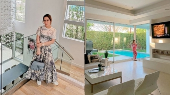 A peek inside Manny and Jinkee Pacquiao's place in Los Angeles, California